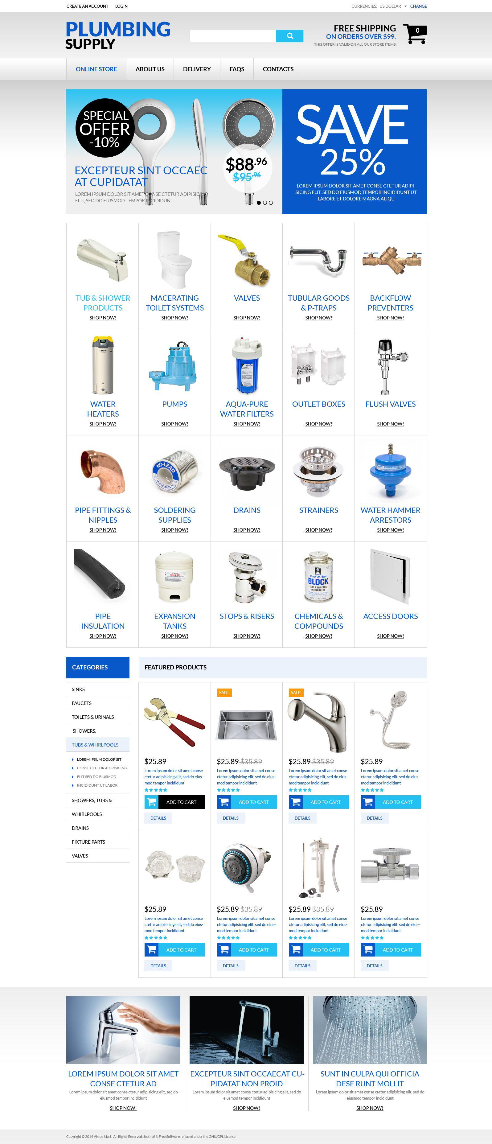 Durable Plumbing Fixtures №51746