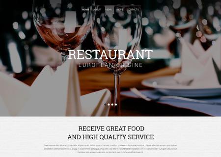 European Restaurant Responsive