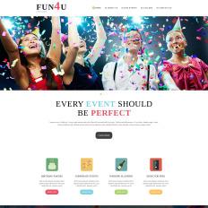 Event planner joomla templates festivity planning bootstrap joomla template pronofoot35fo Gallery