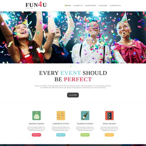 Fun 4 U - Joomla! Template based on Bootstrap