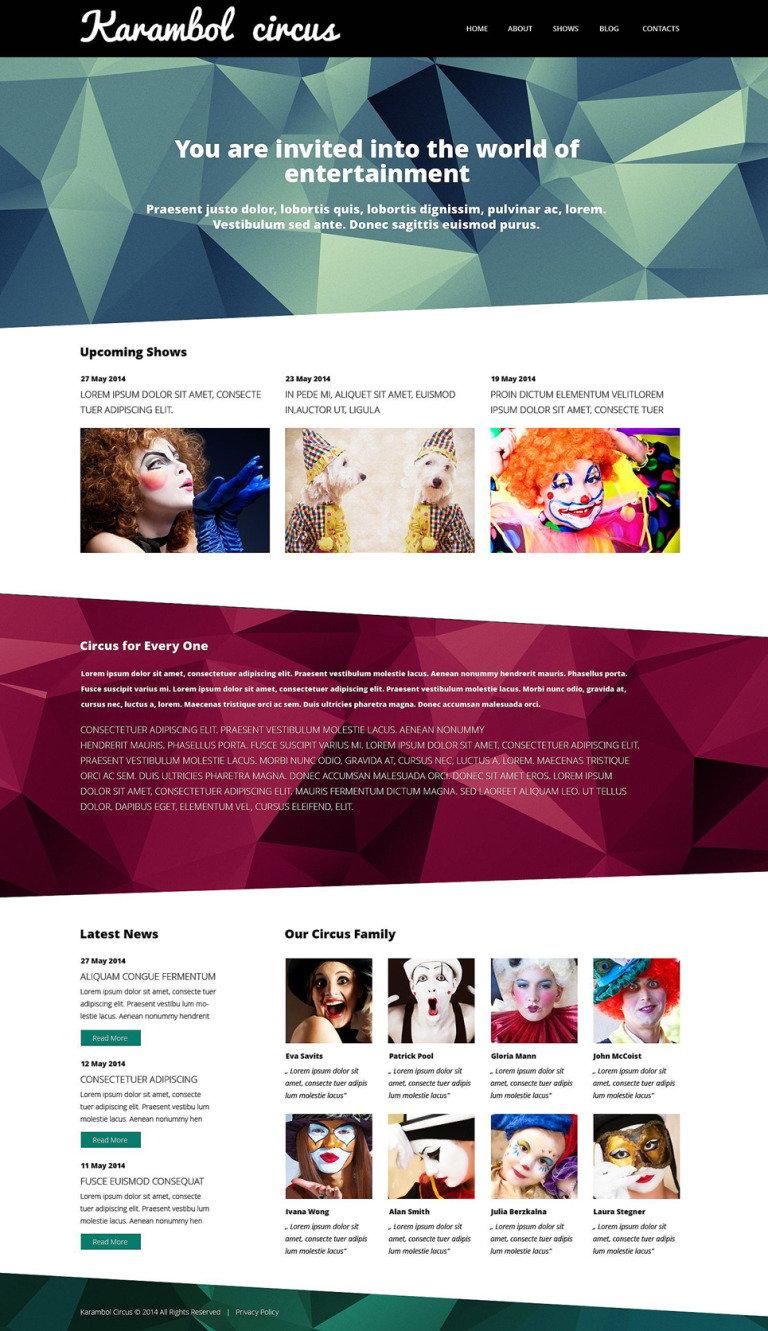 Fun Joy Club WordPress Theme New Screenshots BIG