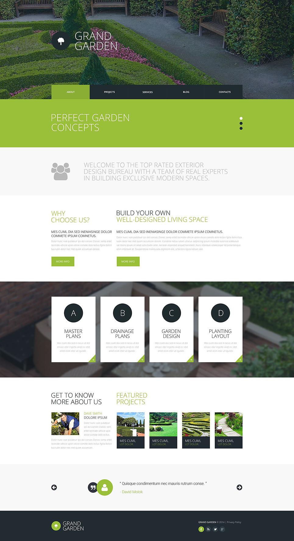 landscaping website templates free landscape website design exterior