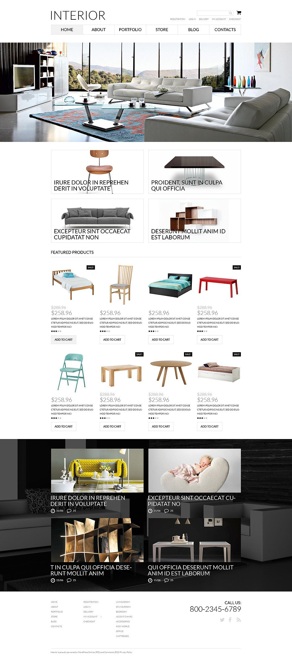 Interior Furniture WooCommerce Theme New Screenshots BIG