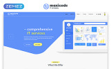 Maxicode - IT Company Multipage Creative HTML Website Template