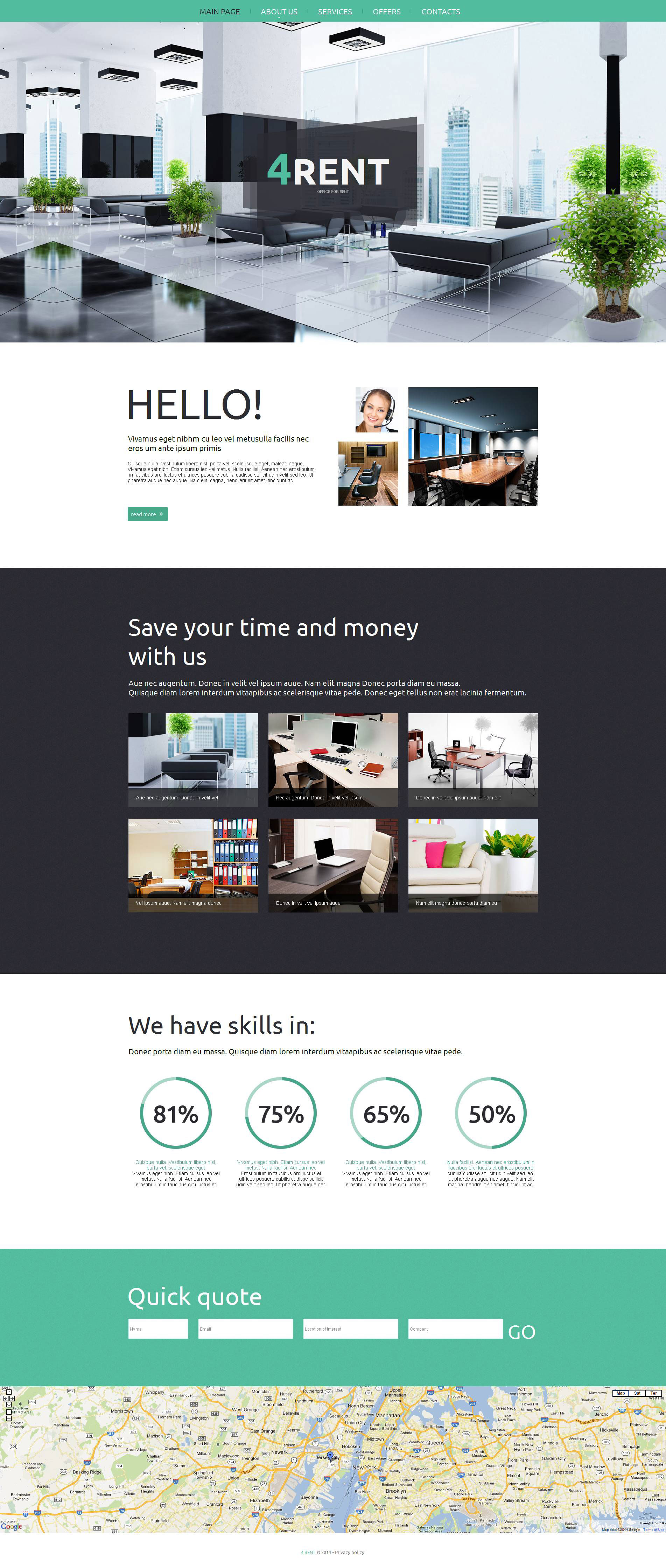 Office Moto CMS HTML Template - screenshot