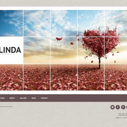 Linda - Photo Gallery Template