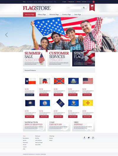 Plantilla ZenCart #51793 para Sitio de  para Sitio de Política