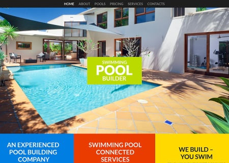 Pool Cleaning Responsive