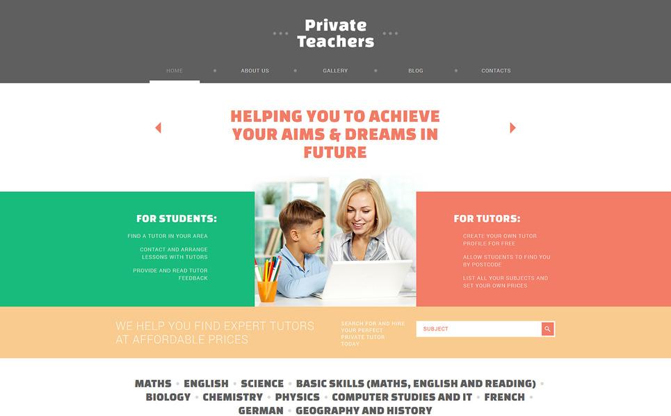 Responsive Joomla Vorlage für Ausbildung  New Screenshots BIG
