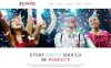 Reszponzív Festivity Planning Joomla sablon New Screenshots BIG