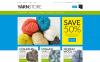 Reszponzív Yarn Online Store Magento sablon New Screenshots BIG