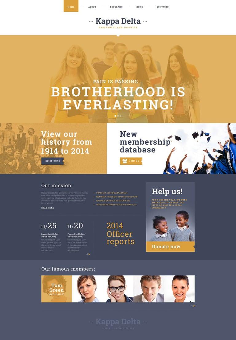 University Responsive Website Template New Screenshots BIG