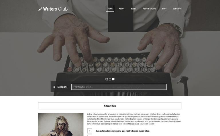 Writing Spot WordPress Theme