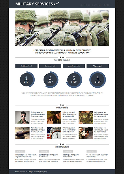 Joomla Theme/Template 51803 Main Page Screenshot