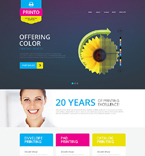 Art & Photography Website  Template 51805