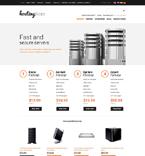 Web Hosting osCommerce  Template 51812