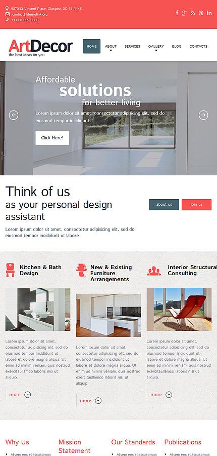 WordPress Theme/Template 51816 Main Page Screenshot