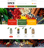 Food & Drink ZenCart  Template 51820