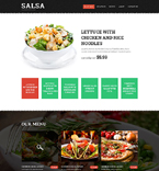 Cafe & Restaurant Website  Template 51828