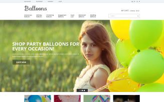 Balloons Joy Magento Theme