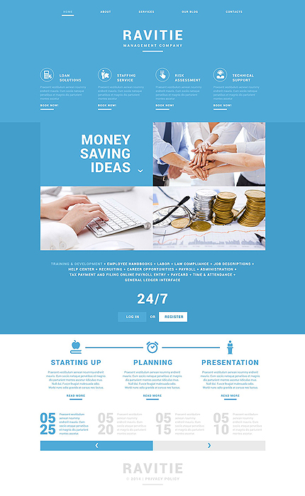 Drupal Template 51833 Main Page Screenshot