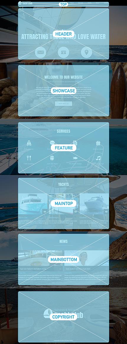 Joomla Theme/Template 51835 Main Page Screenshot