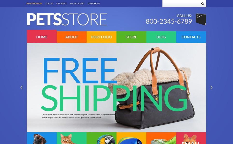 Responsive WooCommercie Thema over Dierenwinkel New Screenshots BIG