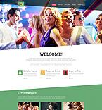 Entertainment Joomla  Template 51847