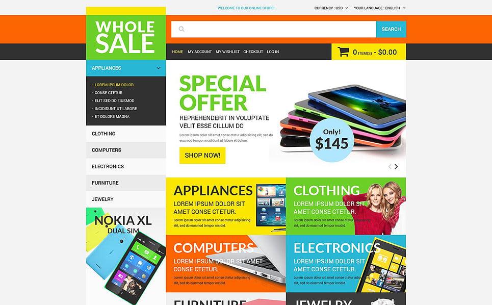 Responsywny szablon Magento #51848 na temat: sklep elektroniczny New Screenshots BIG