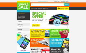 Wholesale Store Magento Theme