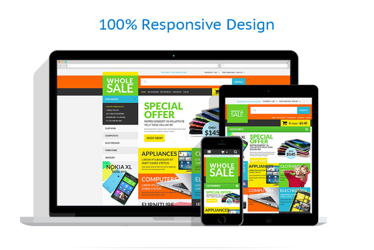 Wholesale Store Magento Theme - Real estate wholesale website templates