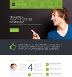 Personal Page Website  Template 51852