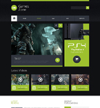 Games Website  Template 51853
