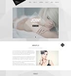 Fashion Website  Template 51854