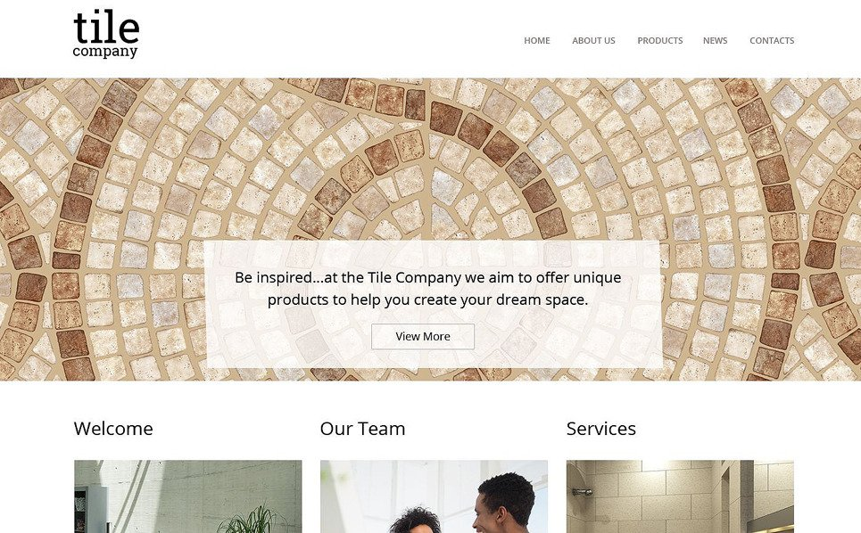 Template Web Flexível para Sites de Design Interior №51856 New Screenshots BIG