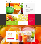 Food & Drink Drupal  Template 51861