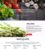 Agriculture Website  Template 51862