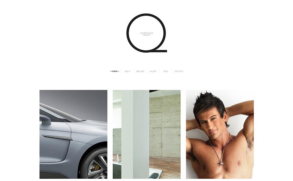 Responzivní WordPress motiv na téma Reklamní agentura New Screenshots BIG