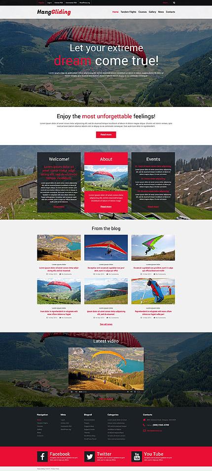 WordPress Theme/Template 51866 Main Page Screenshot