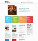 Books Website  Template 51873