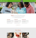 Charity Website  Template 51882