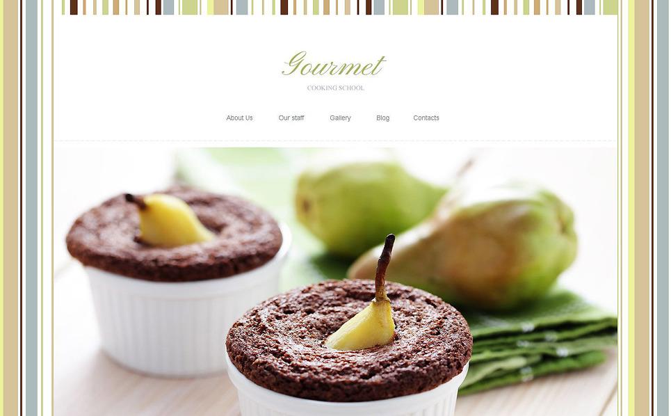 Responsive Yemek Pişirme  Joomla Şablonu New Screenshots BIG