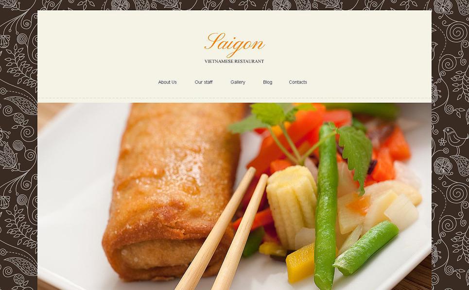 Responsive Joomla Template over Vietnamees Restaurant  New Screenshots BIG