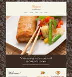 Cafe & Restaurant Joomla  Template 51892