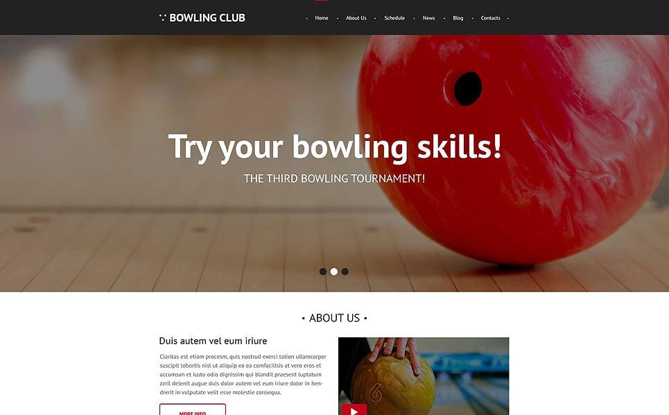 Responsive Bowling  Web Sitesi Şablonu New Screenshots BIG