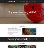 Sport Website  Template 51895