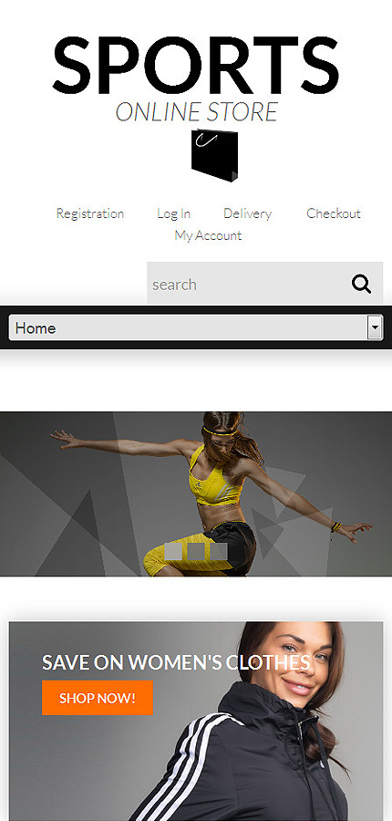 ADOBE Photoshop Template 51897 Home Page Screenshot