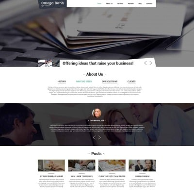 Drupal themes drupal templates templatemonster for Drupal 7 view template