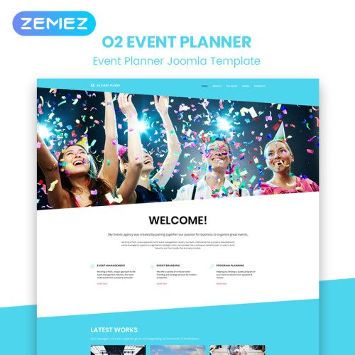 Q2 Events - Joomla! Template based on Bootstrap