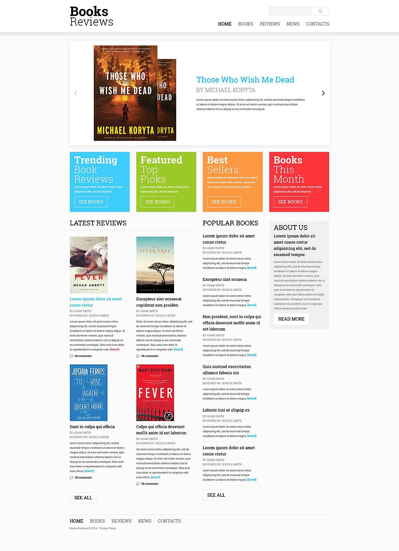 Book reviews website